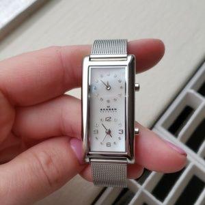 Skagen Denmark Dual Clock Watch